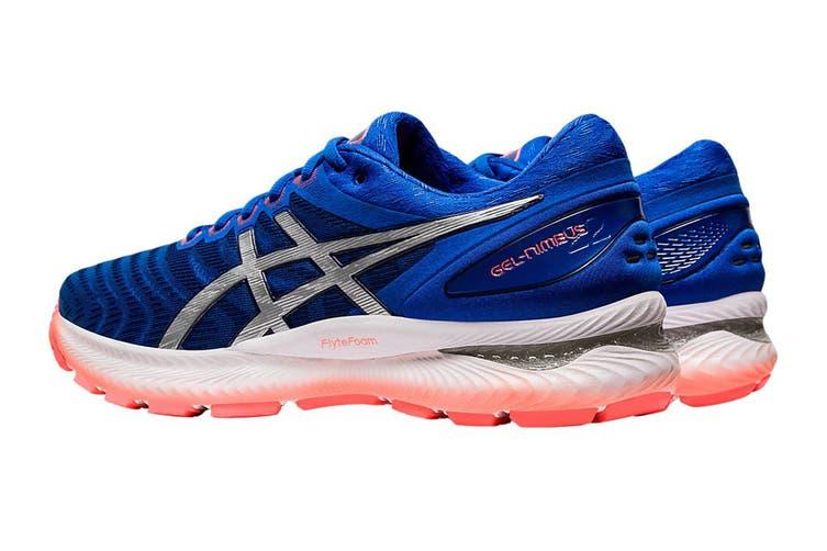 ASICS Men's Gel-Nimbus 22 Running Shoe (Tuna Blue/Pure Silver, Size 12 US)
