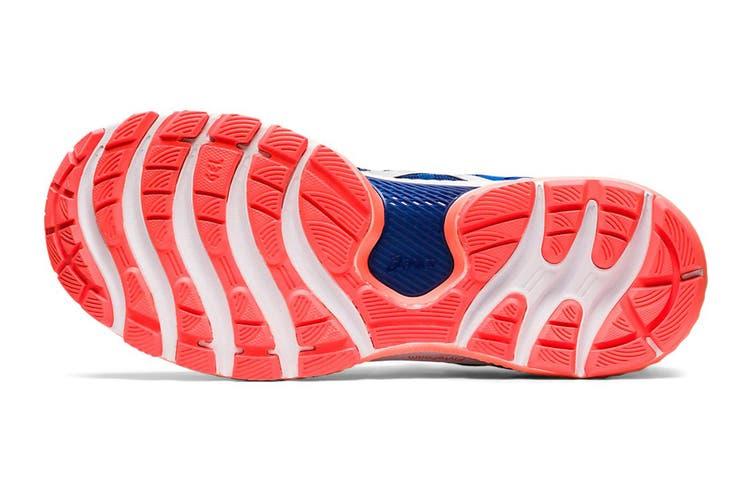 ASICS Men's Gel-Nimbus 22 Running Shoe (Tuna Blue/Pure Silver, Size 8.5 US)
