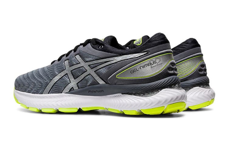 ASICS Men's Gel-Nimbus 22 Night Track Running Shoe (Metropolis/Pure Silver, Size 8.5 US)