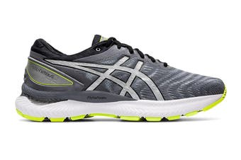 ASICS Men's Gel-Nimbus 22 Night Track Running Shoe (Metropolis/Pure Silver)