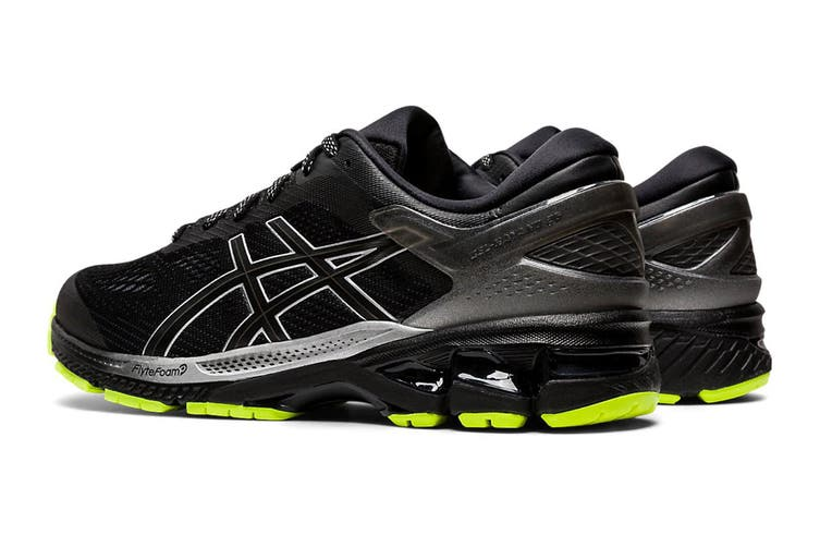 ASICS Men's Gel-Kayano 26 Lite-Show Running Shoe (Black/Black, Size 10.5 US)