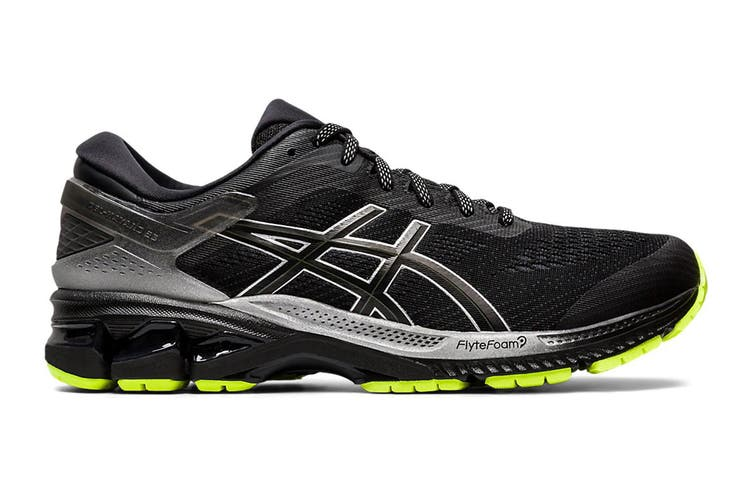 ASICS Men's Gel-Kayano 26 Lite-Show Running Shoe (Black/Black, Size 10 US)