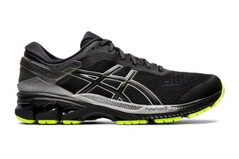 ASICS Men's Gel-Kayano 26 Lite-Show Running Shoe (Black/Black, Size 8 US)