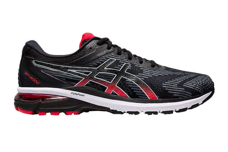 ASICS Men's GT-2000 8 Running Shoe (Black/Sheet Rock, Size 12 US)