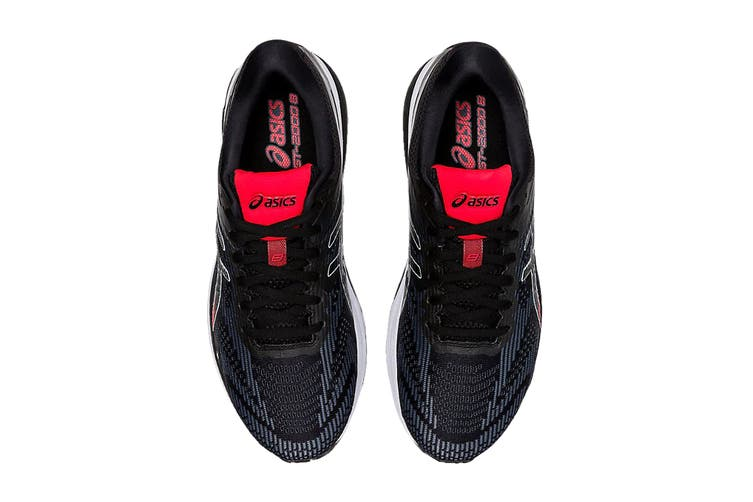 ASICS Men's GT-2000 8 Running Shoe (Black/Sheet Rock, Size 9 US)