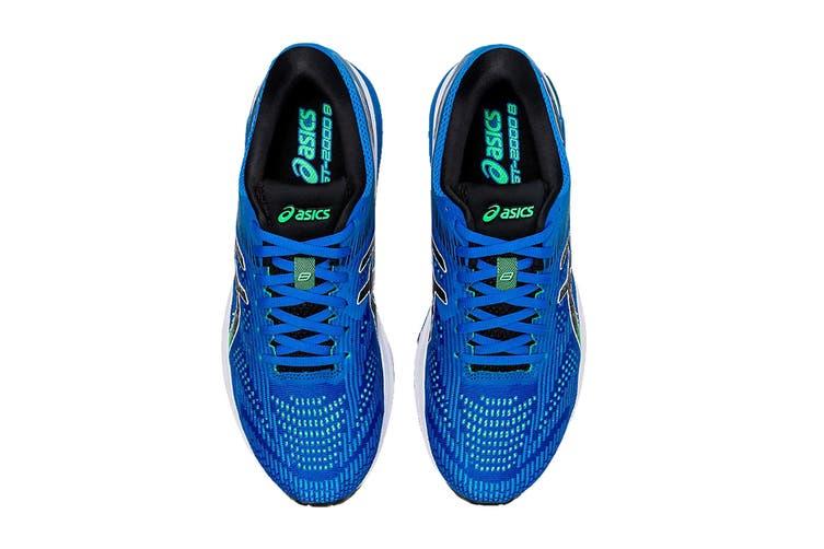 ASICS Men's GT-2000 8 Running Shoe (Electric Blue/Black, Size 7.5 US)