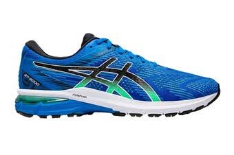 ASICS Men's GT-2000 8 Running Shoe (Electric Blue/Black, Size 9 US)