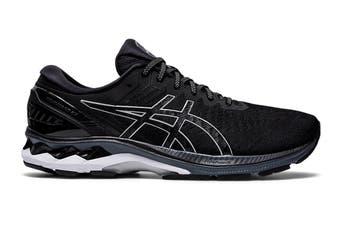 ASICS Men's Gel-Kayano 27 Running Shoe (Black/Pure Silver, Size 14 US)