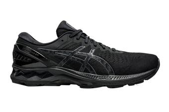 ASICS Men's Gel-Kayano 27 Running Shoe (Black/Black, Size 12 US)