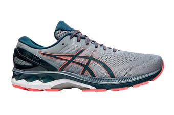 ASICS Men's Gel-Kayano 27 Running Shoe (Sheet Rock/Magnetic Blue, Size 8 US)