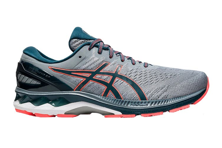 ASICS Men's Gel-Kayano 27 Running Shoe (Sheet Rock/Magnetic Blue, Size 7.5 US)