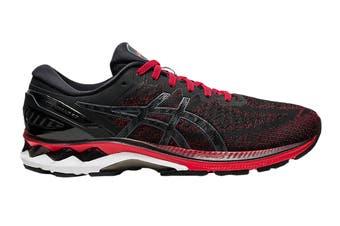 ASICS Men's Gel Kayano 27 Running Shoe (Classic Red/Black)