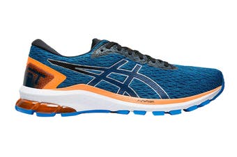 ASICS Men's GT-1000 9 Running Shoe (Electric Blue/Black, Size 11 US)