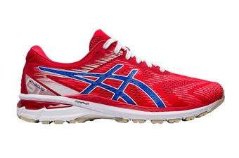 ASICS Men's GT-2000 8 Running Shoe (Classic Red/Electric Blue, Size 8.5 US)
