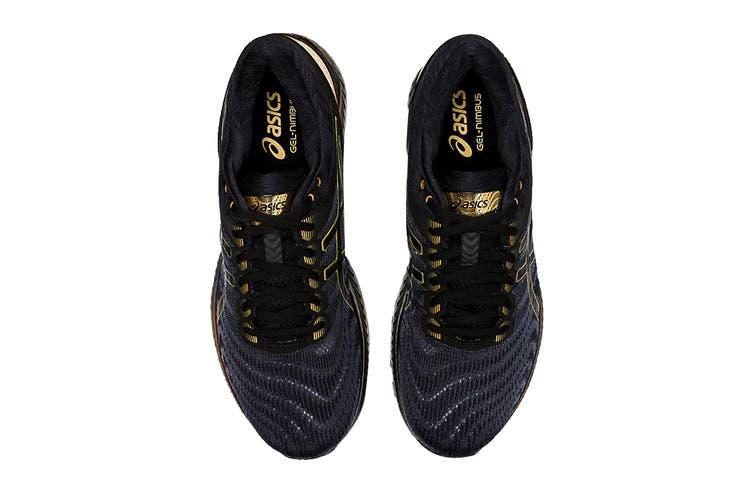 ASICS Men's Gel-Nimbus 22 Platinum Running Shoe (Black/Pure Gold, Size 9.5 US)