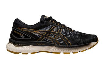ASICS Men's Gel-Nimbus 22 Knit Running Shoe (Black/Black)