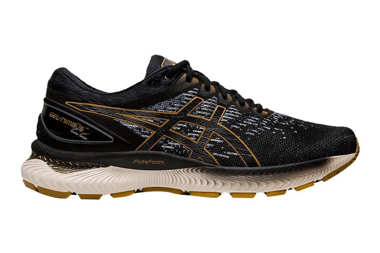ASICS Men's Gel-Nimbus 22 Knit Running Shoe (Black/Black, Size 9 US)