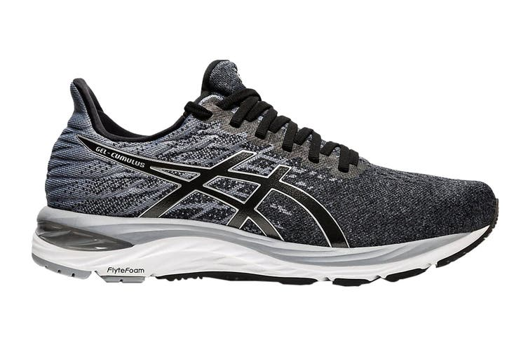 ASICS Men's Gel-Cumulus 21 Knit Running Shoe (Black/Pure Silver, Size 10.5 US)