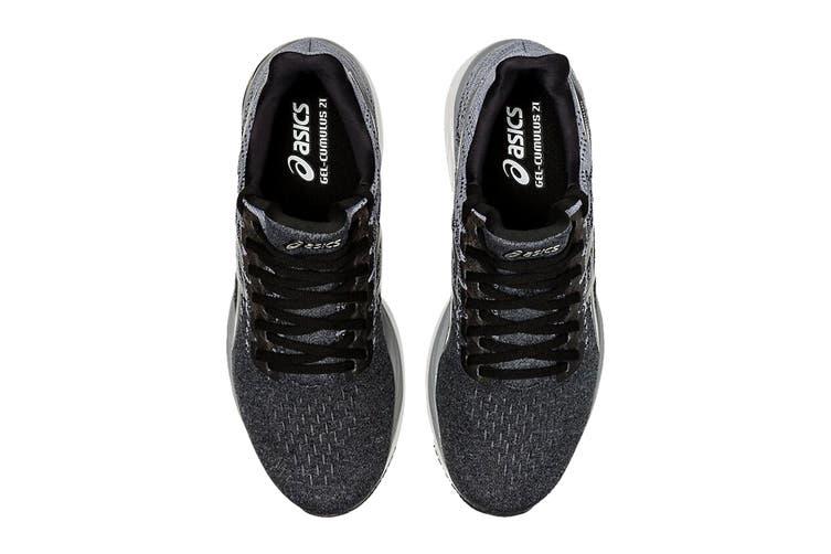 ASICS Men's Gel-Cumulus 21 Knit Running Shoe (Black/Pure Silver, Size 10 US)