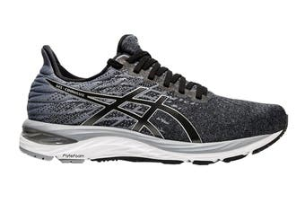 ASICS Men's Gel-Cumulus 21 Knit Running Shoe (Black/Pure Silver, Size 12.5 US)