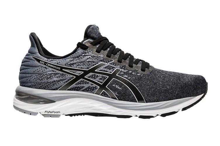 ASICS Men's Gel-Cumulus 21 Knit Running Shoe (Black/Pure Silver, Size 8.5 US)
