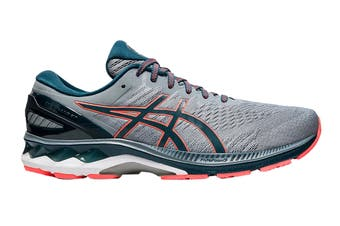 ASICS Men's Gel-Kayano 27 (4E Extra Wide) Running Shoe (Sheet Rock/Magnetic Blue, Size 9 US)