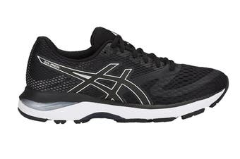 ASICS Women's GEL-Pulse 10 Running Shoe (Black/Silver, Size 6)