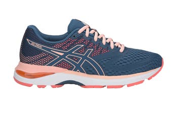 ASICS Women's GEL-Pulse 10 Running Shoe (Grand Shark/Baked Pink)