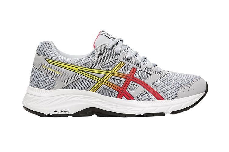 ASICS Women's Gel-Contend 5 Running Shoe (Piedmont Grey/Laser Pink, Size 7 US)