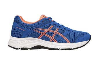 ASICS Women's Gel-Contend 5 Running Shoe (Lake Drive/Sun Coral, Size 7 US)