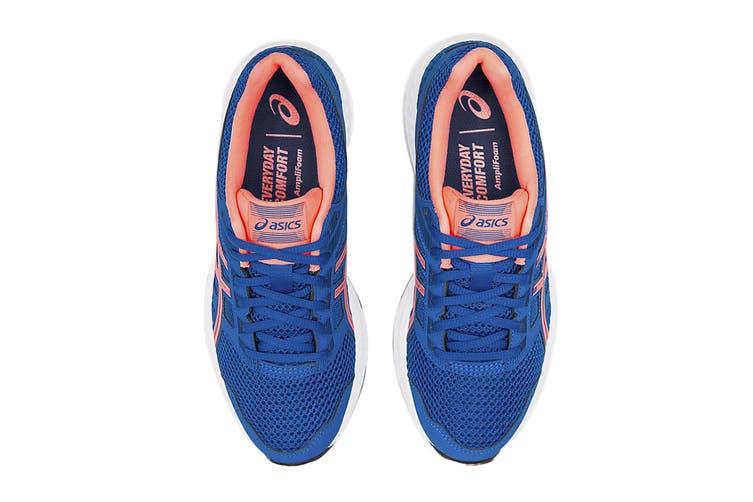 ASICS Women's Gel-Contend 5 Running Shoe (Lake Drive/Sun Coral, Size 8.5 US)