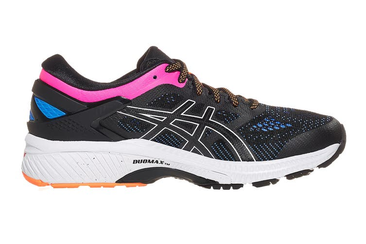 ASICS Women's Gel-Kayano 26 Running Shoe (Black/Blue Coast, Size 10.5 US)