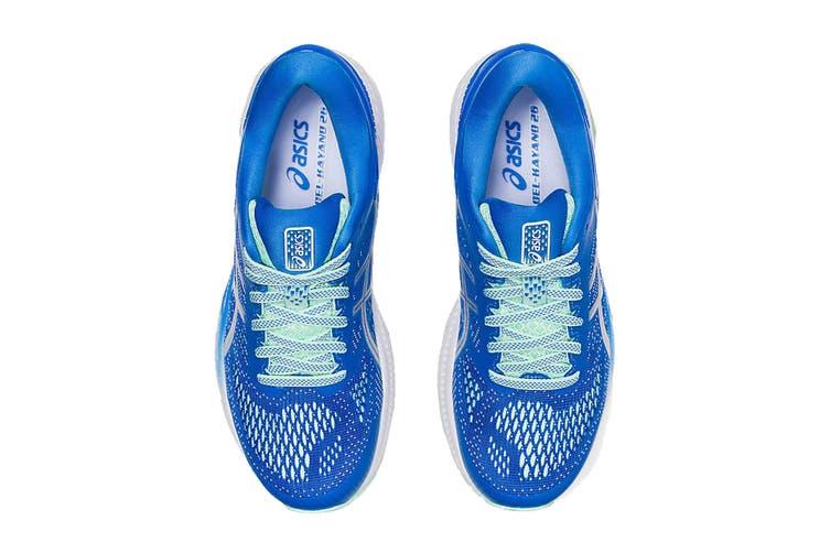 ASICS Women's Gel-Kayano 26 Running Shoe (Blue Coast/Pure Silver, Size 7 US)