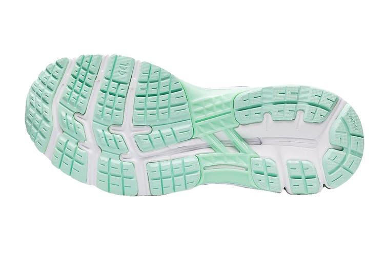 ASICS Women's Gel-Kayano 26 Running Shoe (Blue Coast/Pure Silver, Size 8 US)