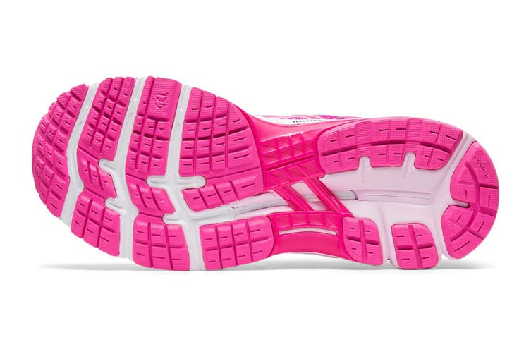 ASICS Women's Gel-Kayano 26 Running Shoe (Pink Glo/Cotton Candy, Size 9 US)