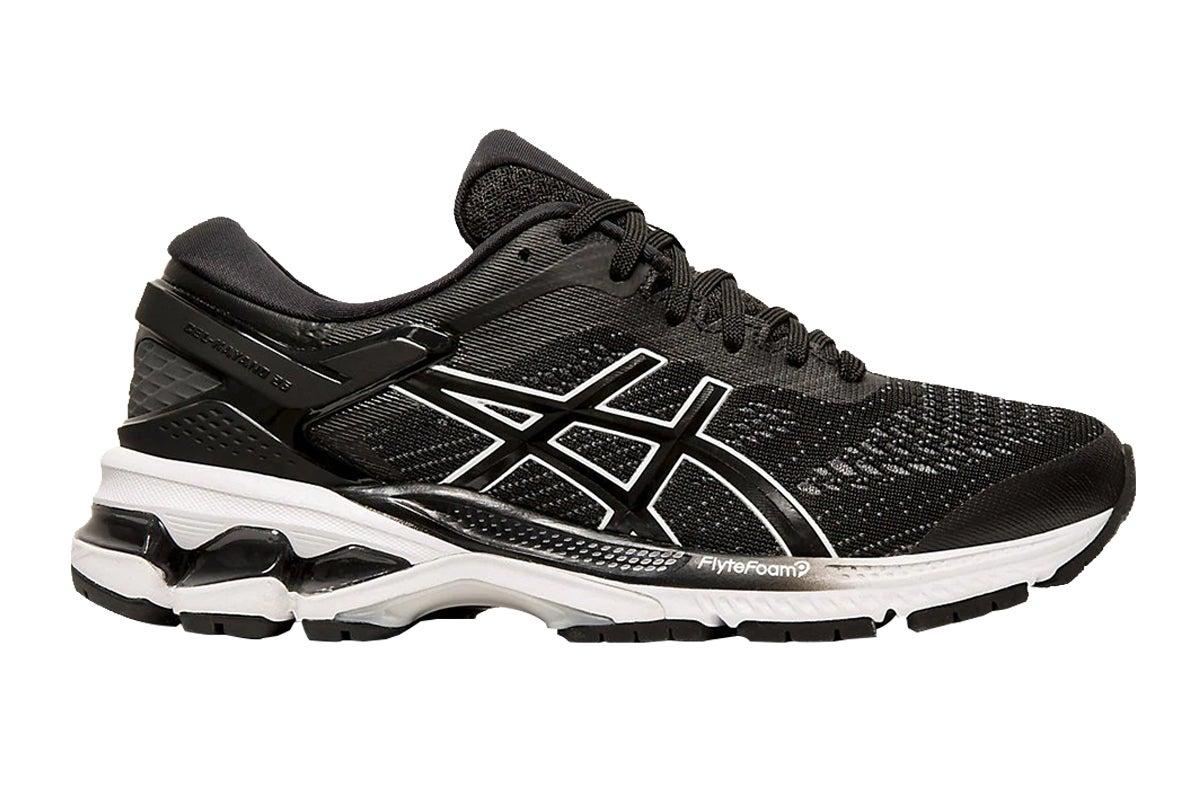Gel-Kayano 26 Running Shoe (Black/White