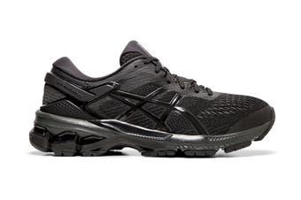 ASICS Women's Gel-Kayano 26 Running Shoe (Black/Black)