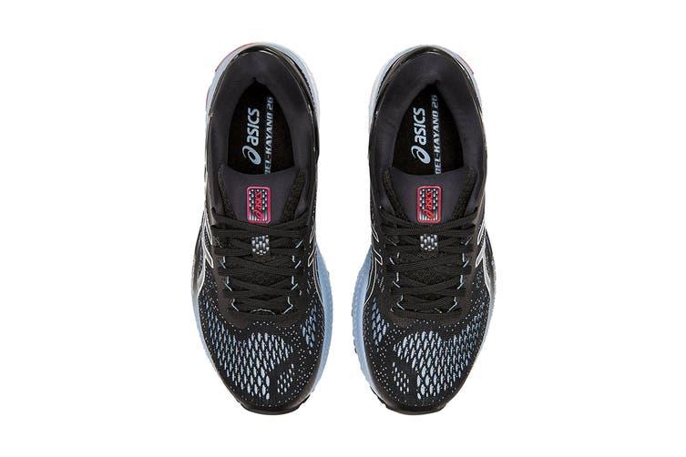 ASICS Women's Gel-Kayano 26 Running Shoe (Black/Heritage Blue, Size 6 US)
