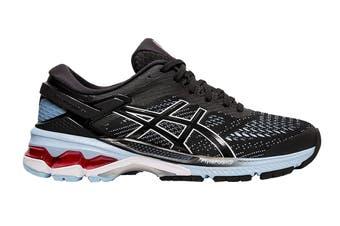 ASICS Women's Gel-Kayano 26 Running Shoe (Black/Heritage Blue)