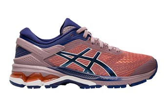 ASICS Women's Gel-Kayano 26 Running Shoe (Violet Blush/Dive Blue, Size  6 US)