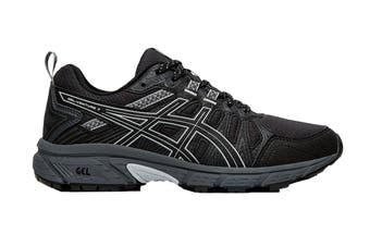 ASICS Women's Gel-Venture 7 Running Shoe (Black/Piedmont Grey, Size 9 US)