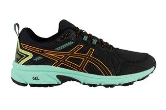 ASICS Women's Gel-Venture 7 Running Shoe (Black/Orange Pop, Size 8.5 US)
