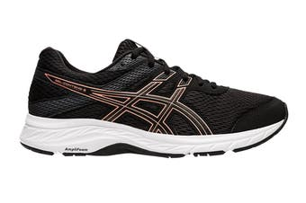 ASICS Women's Gel-Contend 6 Running Shoe (Black/Rose Gold, Size 6 US)