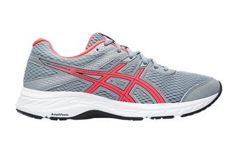 ASICS Women's Gel-Contend 6 Running Shoe (Sheet Rock/Diva Pink, Size 8.5 US)