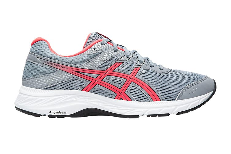 ASICS Women's Gel-Contend 6 Running Shoe (Sheet Rock/Diva Pink, Size 9.5 US)
