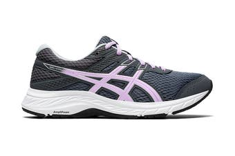 ASICS Women's Gel-Contend 6 Running Shoe (Carrier Grey/Lilac Tech)