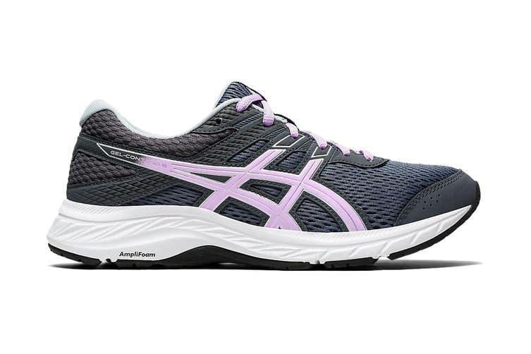ASICS Women's Gel-Contend 6 Running Shoe (Carrier Grey/Lilac Tech, Size 8 US)