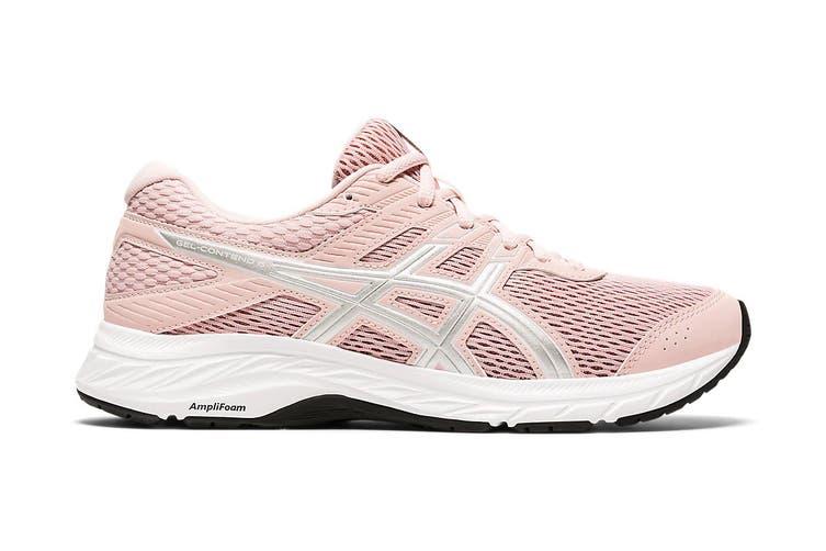 ASICS Women's Gel-Contend 6 Running Shoe (Ginger Peach/White, Size 8 US)