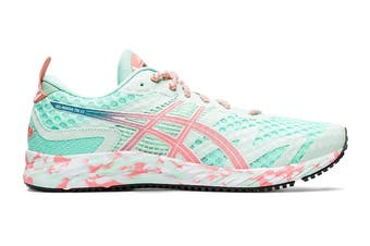 ASICS Women's Gel-Noosa Tri 12 Running Shoe (Fresh Ice/Guava, Size 8 US)