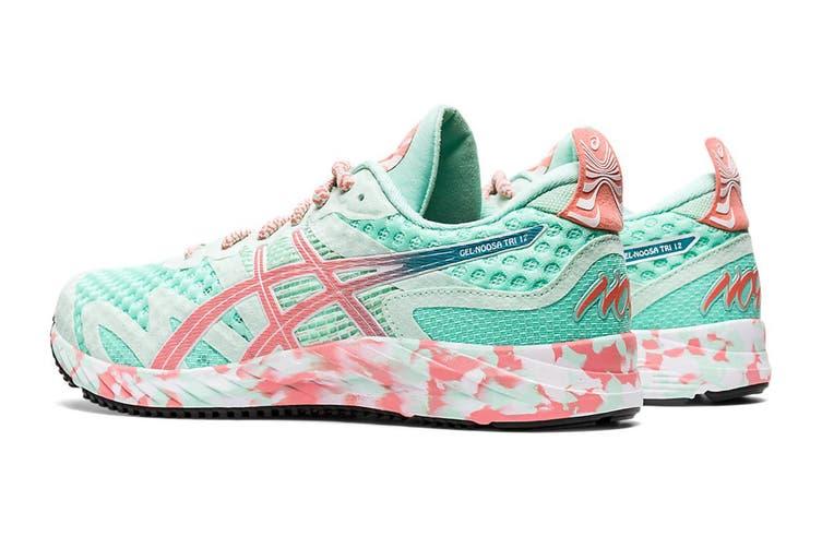ASICS Women's Gel-Noosa Tri 12 Running Shoe (Fresh Ice/Guava, Size 8 US)